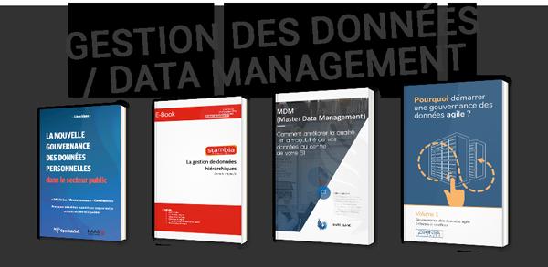 Gestion des données / Data management : tout ce qu'il faut savoir