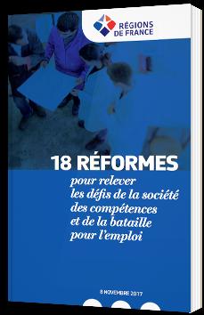 18 réformes pour relever les défis de la société des compétences et de la bataille pour l'emploi