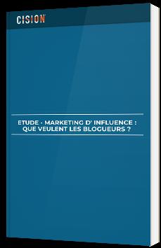 Marketing d'influence : quel veulent les blogueurs ?