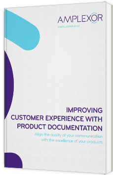 Improving customer experience with product documentation