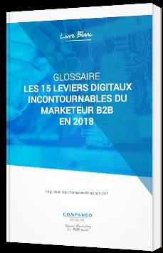 Les 15 leviers digitaux incontournables du marketeur B2B en 2018