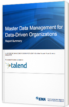 Master Data Management for Data-driven Organisations
