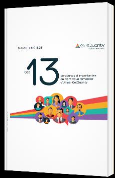 Ces 13 personnes si importantes qui vont vous remercier d'utiliser GetQuanty