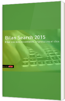 Bilan Search 2015 - Investissements, impressions et clics