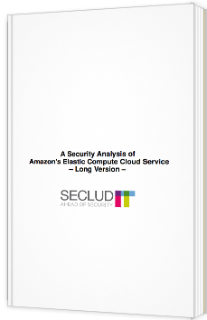 A security analysis of Amazon's Elastic Compute Cloud Service