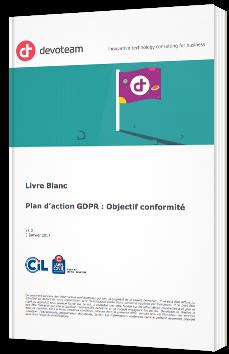 Plan d'action GDPR : Objectif conformité
