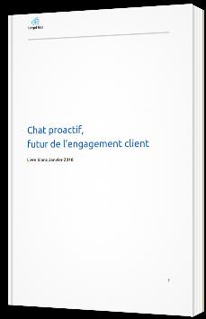 Le chat proactif, futur de l'engagement client