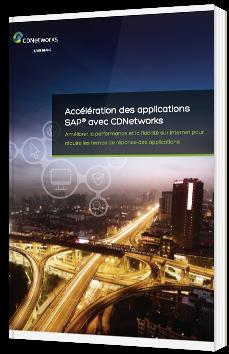 Accélération des applications SAP avec CDNetworks