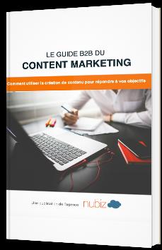Le guide B2B du content marketing