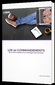 Les 10 commandements de la mise en place d'un catalogue des services