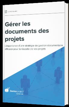 Gérer les documents des projets
