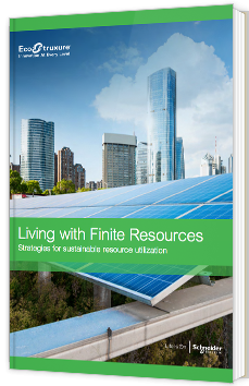 Living with finite ressources