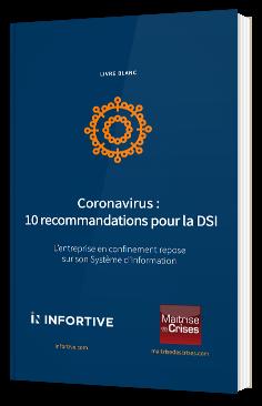 Coronavirus : 10 recommandations pour la DSI