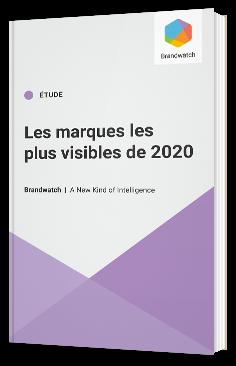 Les marques les plus visibles de 2020