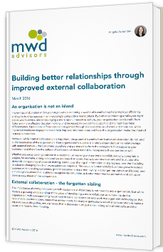 Building better relationships through improved external collaboration
