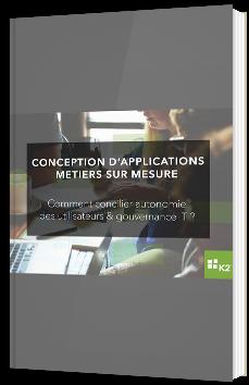 Conception d'applications métiers sur mesure