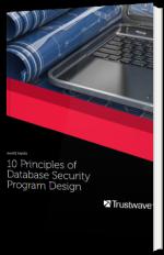 10 Principles of Database Security Program Design