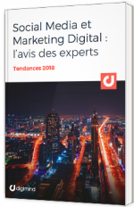 Social Media et Marketing digital : l'avis des experts