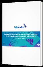 L'année 2016 sur Twitter : les meilleures pratiques de 24 grandes marques dans la twittosphère