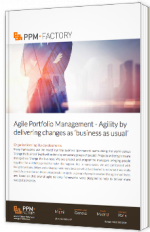 """Agile Portfolio Management - Agility by delivery changes as """"business as usual"""""""