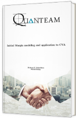 Initial Margin modeling and application to CVA