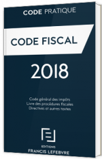 Code fiscal 2018