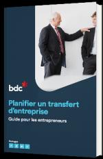 Planifier un transfert d'entreprise