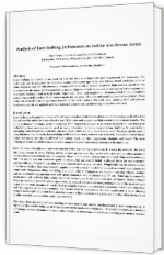 Analysis of laser marking performance on various non-ferrous metals