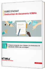 Guide d'achat - Destructeur de documents KOBRA