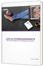 Les 10 commandements de la mise en place d'un catalogue des services
