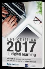 Les chiffres 2017 du digital learning
