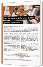 Bâtir une stratégie de formation durable grâce au Digital Learning