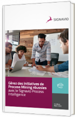Gérez des initiatives de Process Mining réussies avec le Signavio Process Intelligence