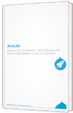 Acquia Lift : connecting technologies and extending systems to source content