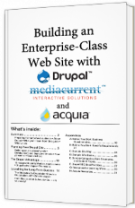 Building an Enterprise-Class website with Drupal