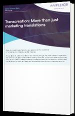 Transcreation: More than just marketing translations