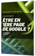 Comment être en 1ère page de Google - livre blanc SEO