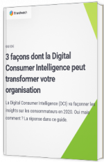 3 façons dont la Digital Consumer Intelligence peut transformer votre organisation