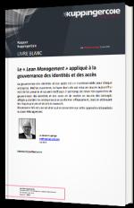 Le « Lean Management » appliqué à la gouvernance des identités et des accès