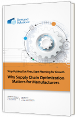 Why supply chain optimization matters for manufacturers