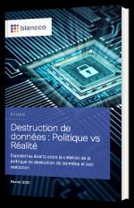 Destruction de données : Politique vs Réalité