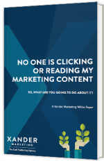 No one is clicking or reading my marketing content