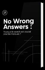 No Wrong Answers : Pourquoi le search est crucial pour les marques ?