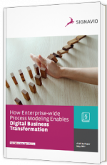 How Enterprise-wide Process Modeling Enables Digital Business Transformation