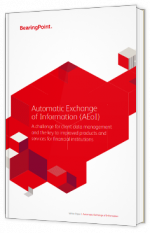 Automatic Exchange of Information (AEoI)