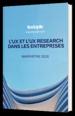 L'UX et l'UX research dans les entreprises - Baromètre 2020