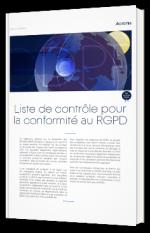 Liste de contrôle pour la conformité au RGPD