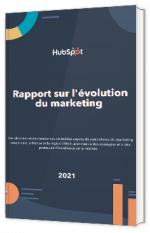 Rapport sur l'évolution du marketing