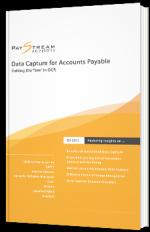 Capture de données pour les comptes fournisseurs