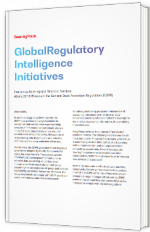 Global Regulatory Intelligence Initiatives - June 2018